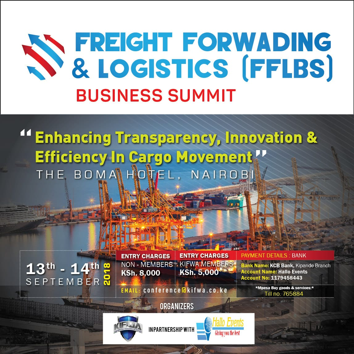 FREIGHT SUMMIT E Flier13658
